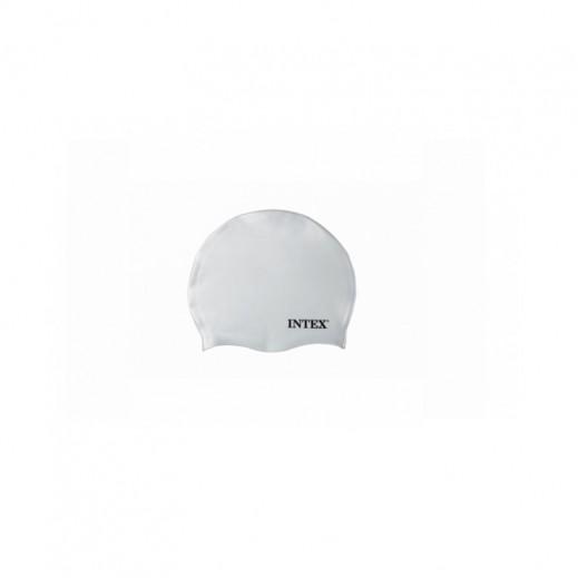 Intex Silicon Swim Cap White (Age 8 Plus)