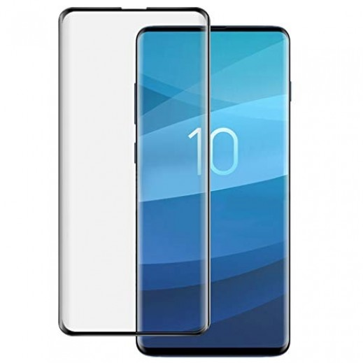 Porodo 3D Curved Screen Protector for Samsung Galaxy S10 - Black