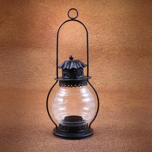 Glass Lantern with Long Handle