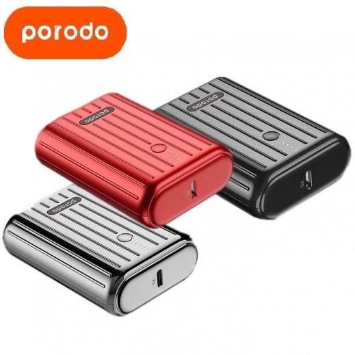 Porodo Power Bank 18W PD & QC3.0 10,000 mAh