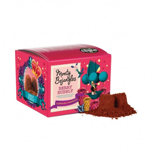 Monty Bojangles Berry Bubbly Cocoa Dusted Truffles 100g