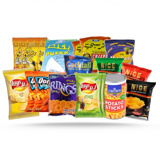 Yummies Mega Chips Package