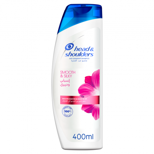 Head & Shoulders Smooth and Silky Anti-Dandruff Shampoo 400ml