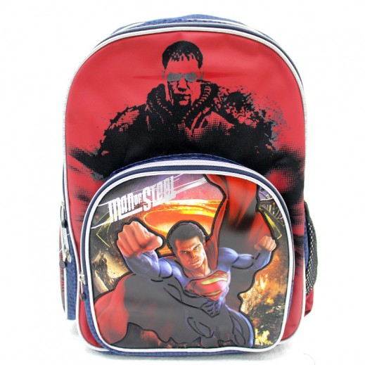 "Superman 18"" Large Back Pack"