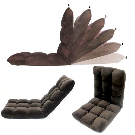 High Fold Floor Chair with Cushion