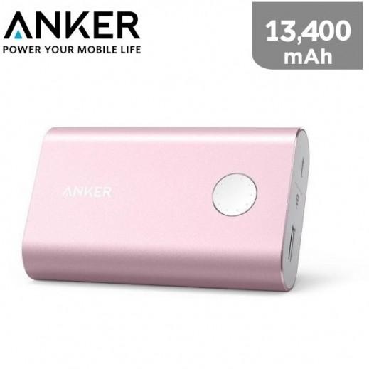 Anker Power Bank 13,400 mAh - Pink