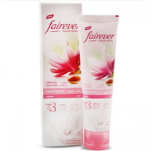 Fairever Natural Fairness Cream Saffron & Pure Milk 100 g