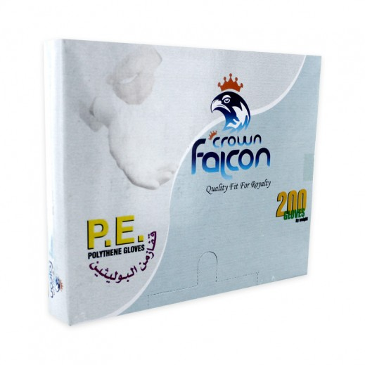 Falcon Polythene Gloves 200 pieces