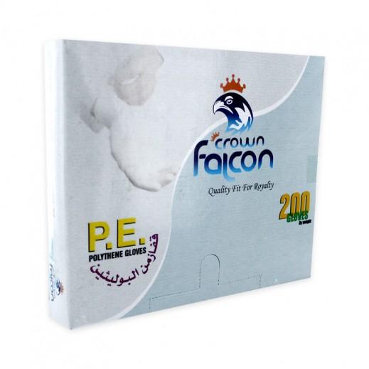 Falcon Crown Polythene Gloves 200 pieces