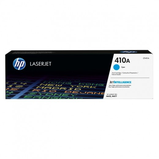 HP 410A Original LaserJet Toner - Cyan Color