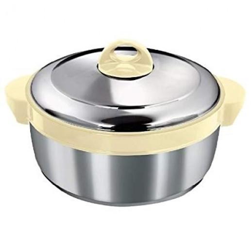 Asian Shining Star Steel Hot Pot 3.5 ltr Beige