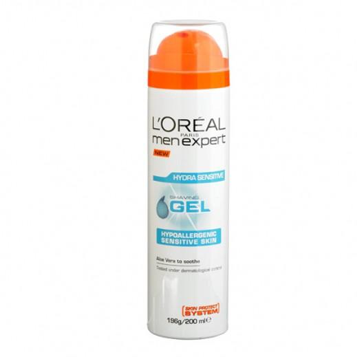 L'Oreal Men Expert Hydra Sensitive Shaving Gel 200 ml