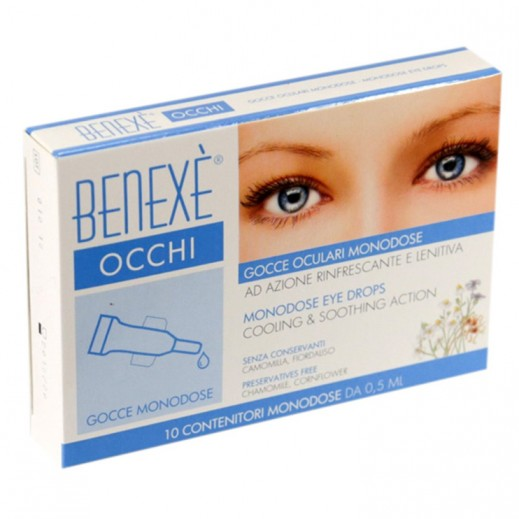 Benexe Occhi Cooling & Soothing Action Monodose Eye Drops 10 x 0.5 ml