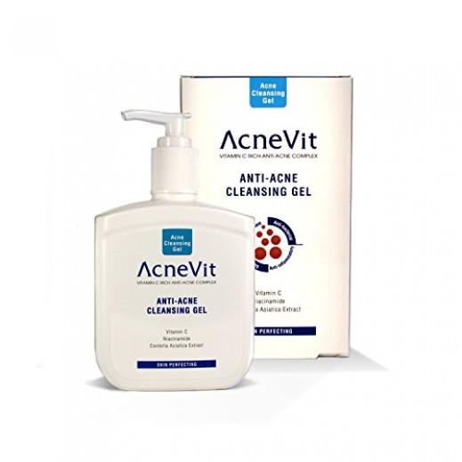 AcneVit Anti Acne Cleansing Gel 200 ml