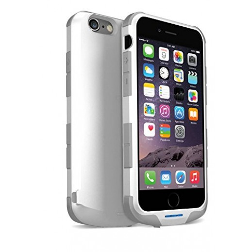 iWalk Chameleon Immortal Power Case For Iphone 6 2400mAh White