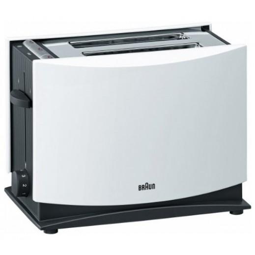Braun Toaster White
