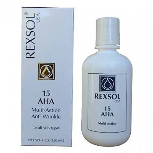 Rexsol USA 15 AHA Multi Action Anti Wrinkle Cream 120 ml