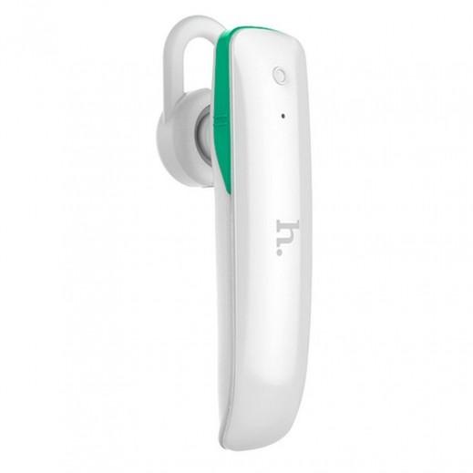 Hoco Mono Wireless Earphones with Microphone - White