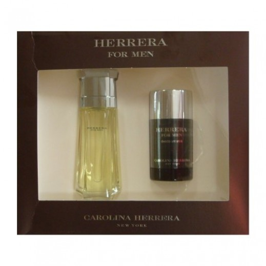 Carolina Herrera Gift Set For Him EDT 100 ml + Deodorant Stick 75 ml