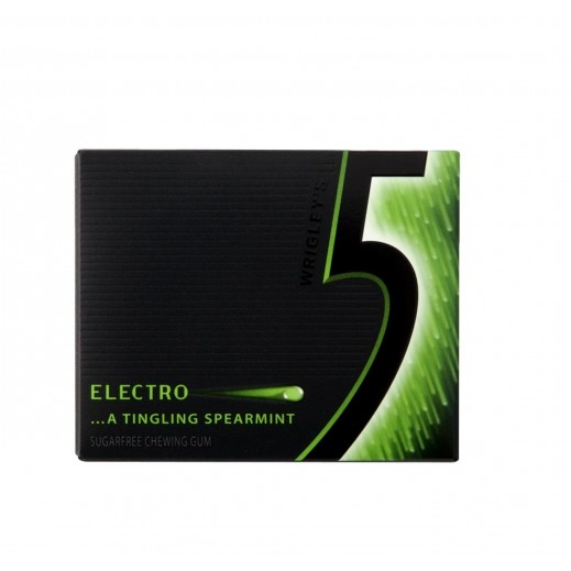 Wrigleys Electro Tingling Peppermint Gum