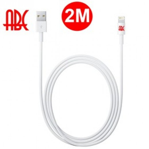 ABC Imax Charge & Sync Cable with 8 Pin Lightning Connector 2m For Iphone 6