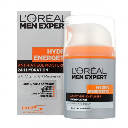 L'Oreal Men Expert Hydra Energetic Anti-Fatigue Moisturizing Lotion 50 ml