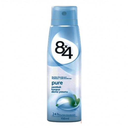 8X4 Pure Deodorant Spray Women 150 ml