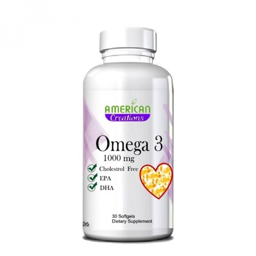 American Creation Omega 3 1000 mg 30 Softgels