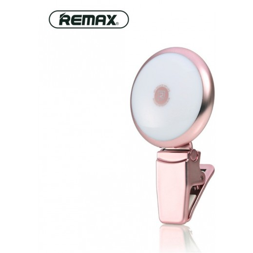 Remax Twilight Selfie Spotlight Rose Gold