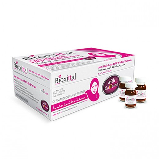 Bioxittal Anti Hair Loss HPP Veiled Serum Womens 10 x 10 ml Ampoules