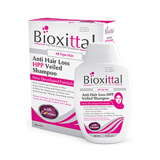 Bioxittal Anti Hair Loss HPP Veiled Shampoo Womens 300 ml