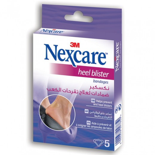 Nexcare Heel Blister Bandages 5 Pieces