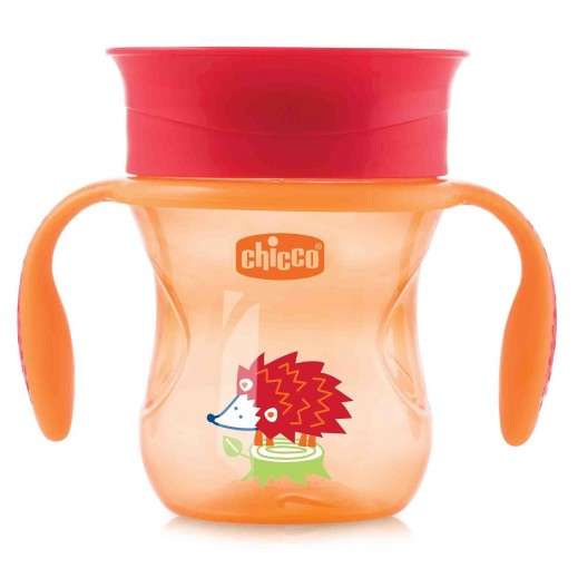 Chicco 360A° Perfect Cup For Kids (12+ Months) 200 ml - Orange