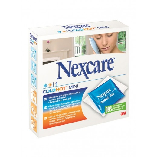 Nexcare Mini Reusable Coldhot Compress For Natural Pain Relief