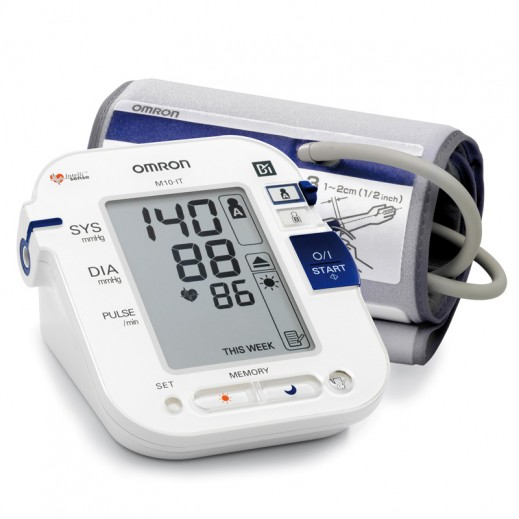 Omron Digital Automatic BP Monitor M10-IT
