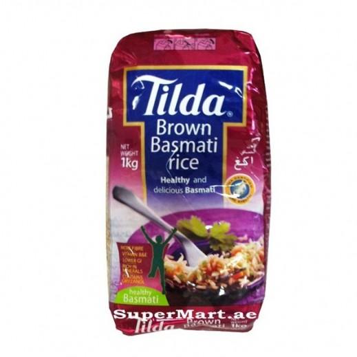 Tilda Brown Basmati Rice 1 kg