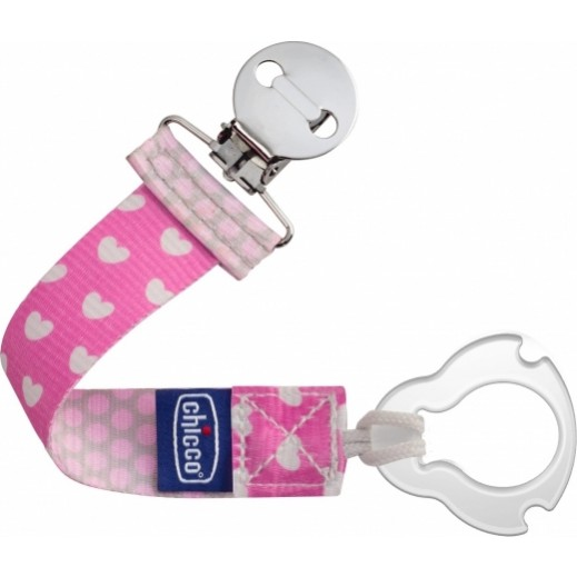 Chicco Fashion Soother Clip Holder For Girls
