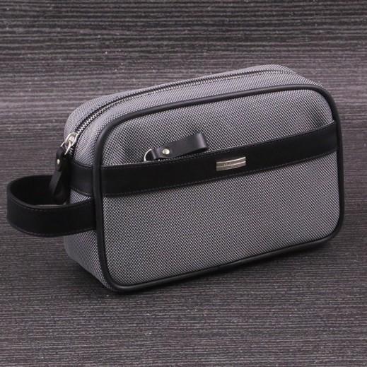 Valentino Orlandi 604 Plain Yacar Gray Men's Hand Bag - delivered by My Fair Lady