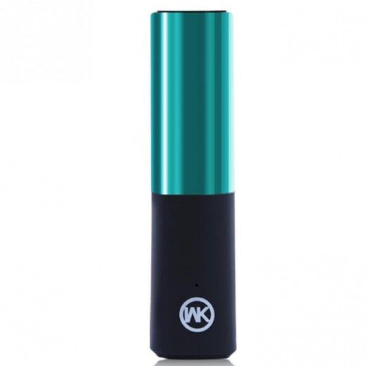 WK Design Power Bank 2,400 mAh - Blue