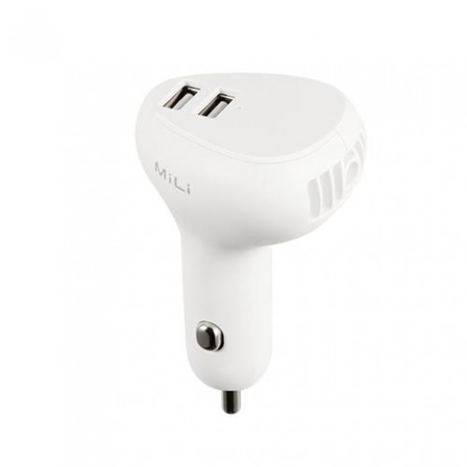 MiLi Car Charger - White