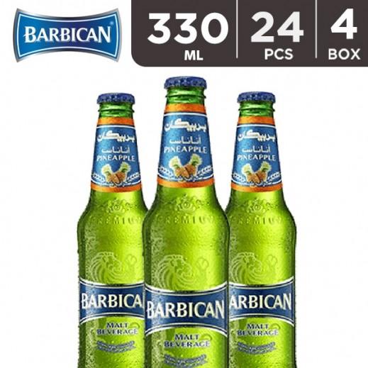 Wholesale - Barbican Pineapple Malt Beverage 330 ml (4 x 6 pieces)