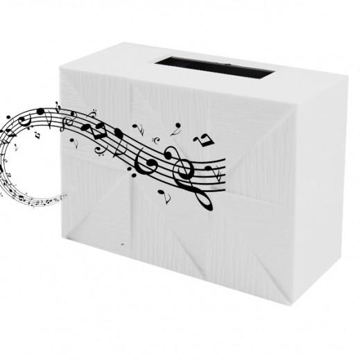 Kistenmacher Door Chime - White