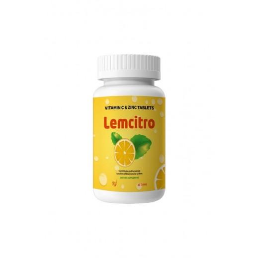 Lemcitro Vitamin C & Zinc 60 Tablets