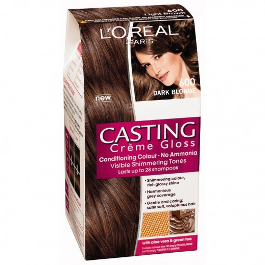 Loreal Paris Casting Cremegloss Dark Blonde 600 Hair Color