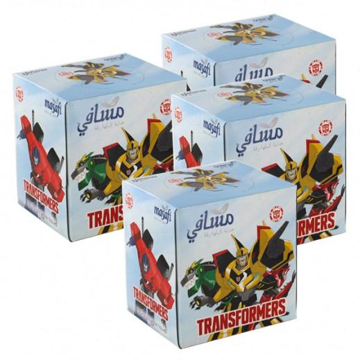 Wholesale - Masafi (Transformer) White 100 Tissue (24 Pieces)