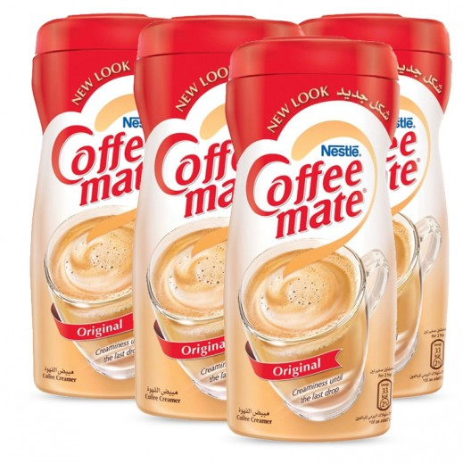 Value Pack - Nestle Coffee Mate Original  Non Dairy Coffee Creamer 400g (4 pieces)