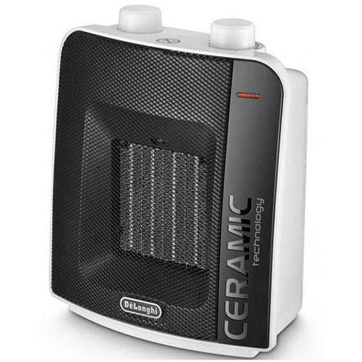 Delonghi Electric Ceramic Fan Heater with Anti-Dust Purifier 2000W - White