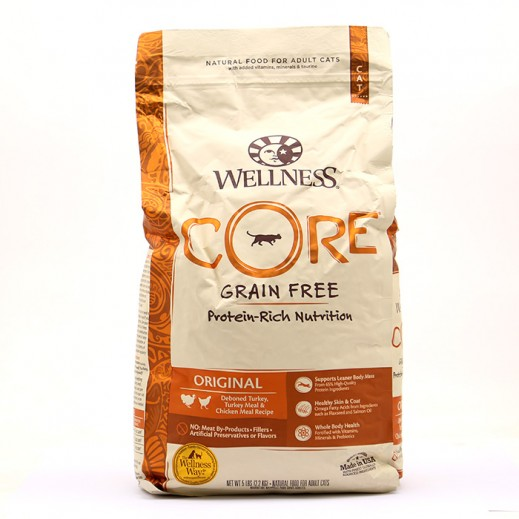 Wellness Core Grain Free Protein Rich Nutrition Original Adult Cat Food 2.2 kg