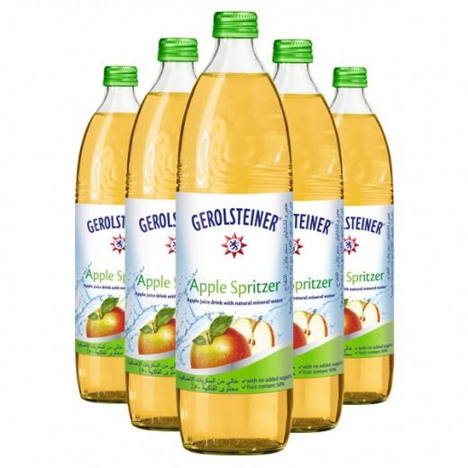 Gerolsteiner Apple Spritzer Mineral Water 15 x 750 ml