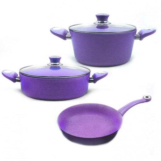 Bonera Marbella Granite Cooking Set - 5 Pieces